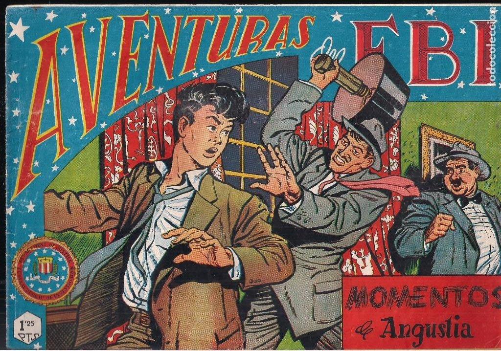 AVENTURAS DEL FBI. Nº 85: MOMENTOS DE ANGUSTIA (Tebeos y Comics - Rollán - FBI)
