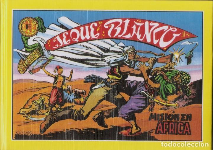 JEQUE BLANCO - COLECCIÓN COMPLETA 137 CUADERNOS EN 5 TOMOS EDICIONES B.O. 1994 (Tebeos y Comics - Rollán - Jeque Blanco)