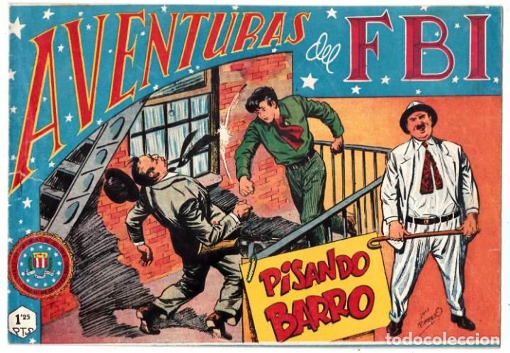 AVENTURAS DEL FBI Nº 128 - PISANDO BARRO - POR LUIS BERMEJO - EDITORIAL ROLLÁN (Tebeos y Comics - Rollán - FBI)