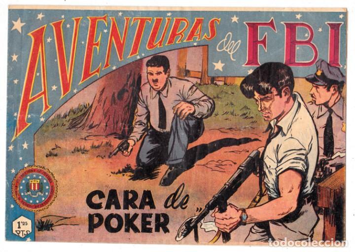 AVENTURAS DEL FBI ORIGINAL NUMERO 126: CARA DE POKER (ORIGINAL) (Tebeos y Comics - Rollán - FBI)
