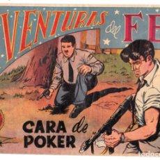 Tebeos: AVENTURAS DEL FBI ORIGINAL NUMERO 126: CARA DE POKER (ORIGINAL). Lote 197607697