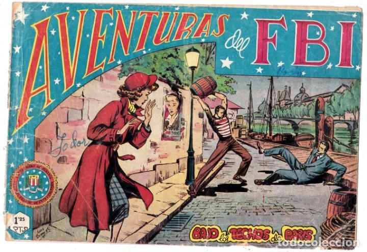 AVENTURAS DE FBI. Nº 48. ROLLAN (ORIGINAL) (Tebeos y Comics - Rollán - FBI)