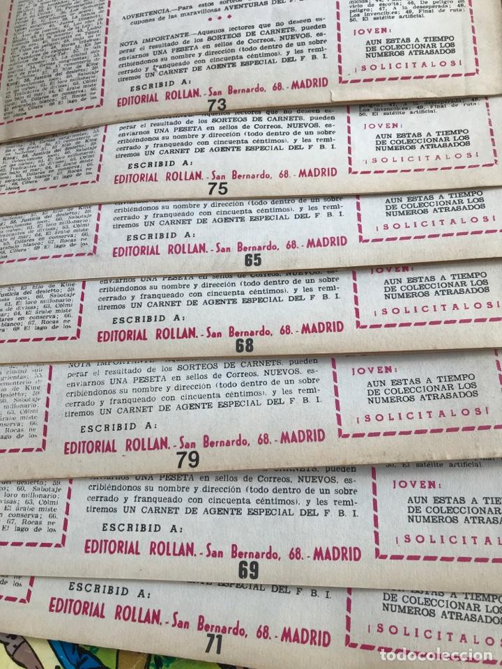 Tebeos: Aventuras del F.B.I ed rollan 7 numeros - Foto 2 - 198326996