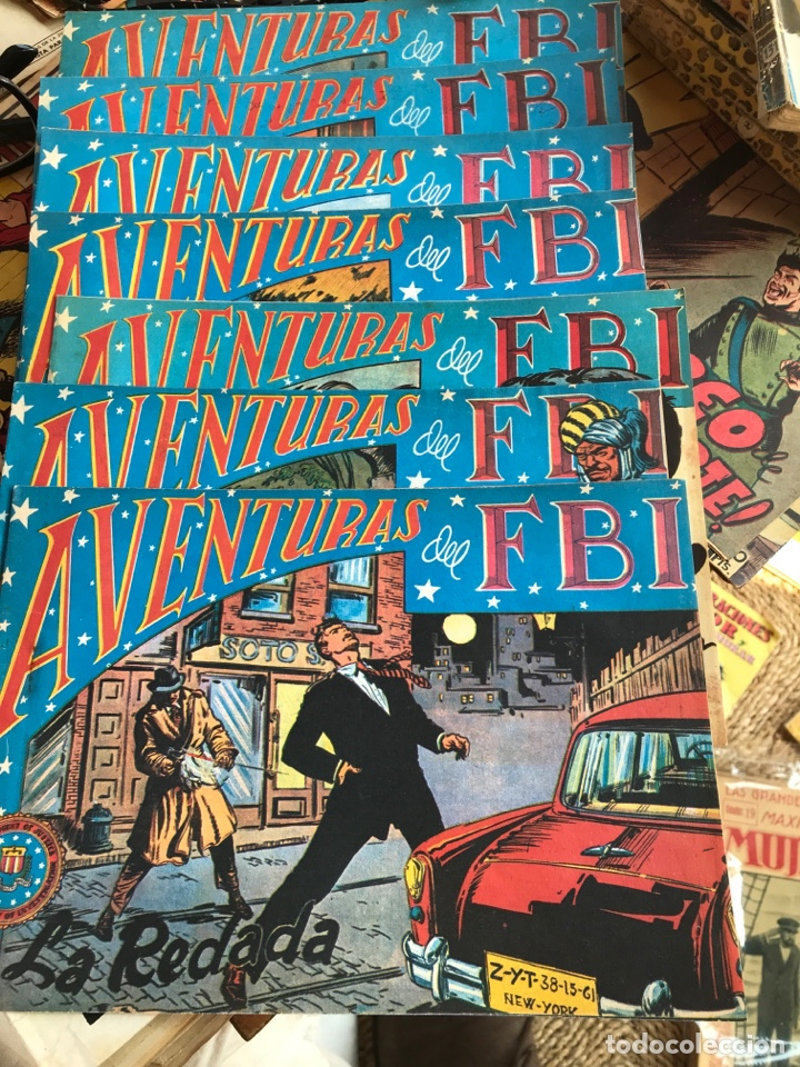 AVENTURAS DEL F.B.I ED ROLLAN 7 NUMEROS (Tebeos y Comics - Rollán - FBI)