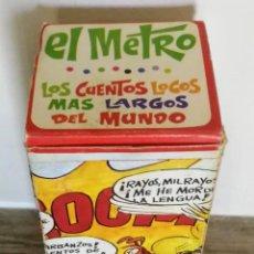Tebeos: ANTIGUO CUENTOS LOCOS MAS LARGOS DEL MUNDO. EL METRO. EDITORIAL ROLLAN, AÑOS 70 - CUENTO LARGO EN FO. Lote 198395042