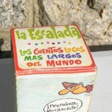 Tebeos: ANTIGUO CUENTOS LOCOS MAS LARGOS DEL MUNDO. LA ESCALADA. EDITORIAL ROLLAN, AÑOS 70 - CUENTO LARGO EN. Lote 198395452