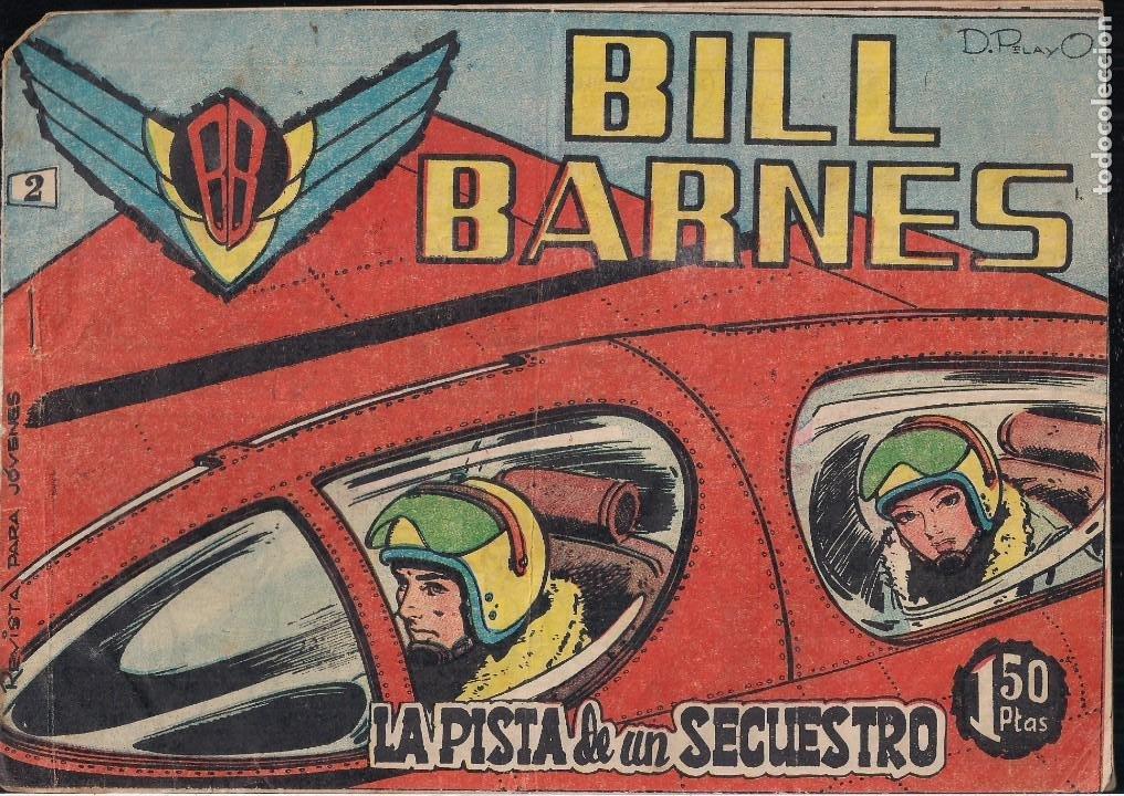 BILL BARNES Nº 2 (Tebeos y Comics - Rollán - Otros)