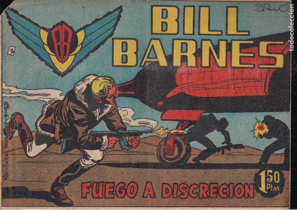 BILL BARNES Nº 5 (Tebeos y Comics - Rollán - Otros)