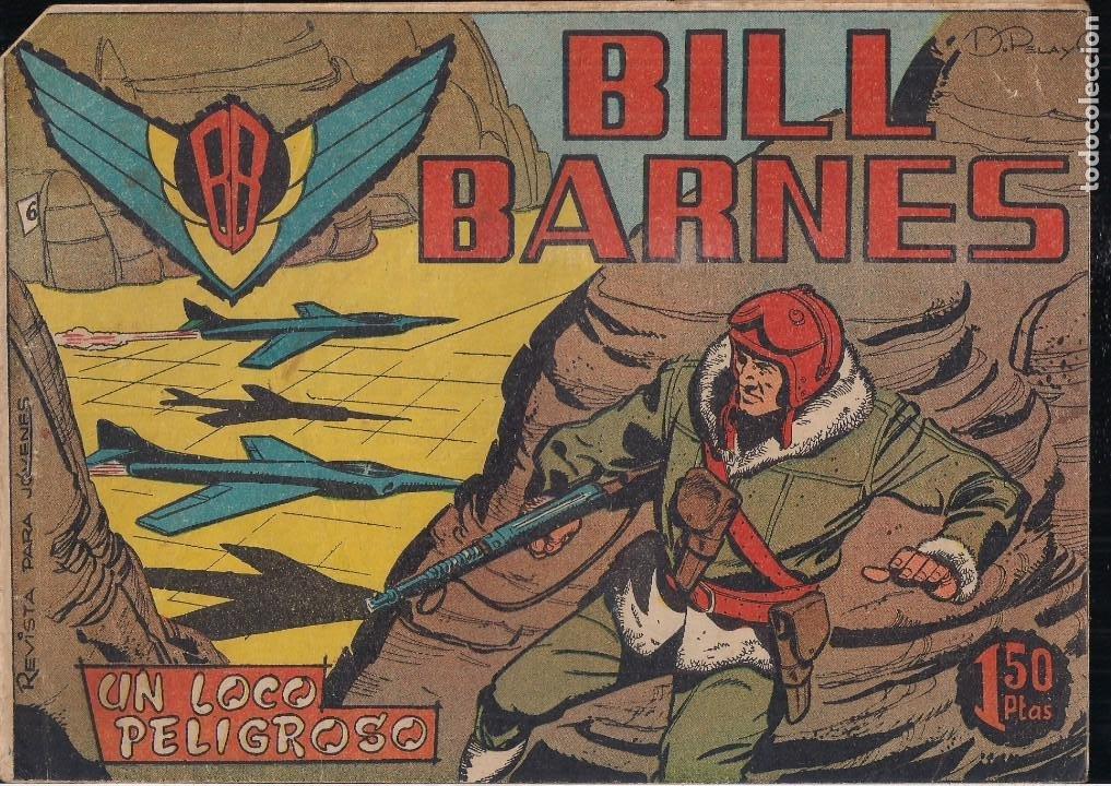 BILL BARNES Nº 6 (Tebeos y Comics - Rollán - Otros)
