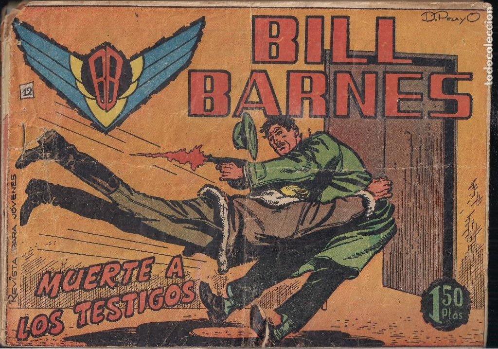 BILL BARNES Nº 12 (Tebeos y Comics - Rollán - Otros)