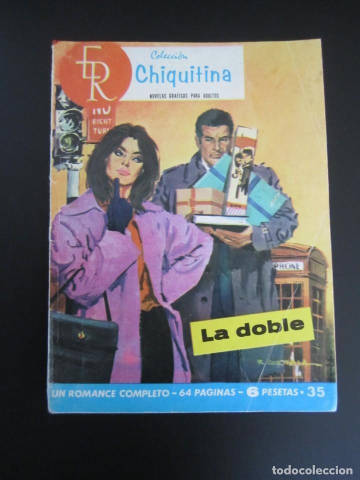 CHIQUITINA (1964, ROLLAN) 35 · 25-III-1966 · LA DOBLE (Tebeos y Comics - Rollán - Otros)