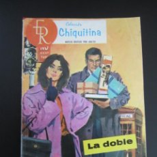Tebeos: CHIQUITINA (1964, ROLLAN) 35 · 25-III-1966 · LA DOBLE. Lote 199991650