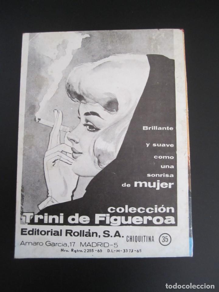 Tebeos: CHIQUITINA (1964, ROLLAN) 35 · 25-III-1966 · LA DOBLE - Foto 2 - 199991650