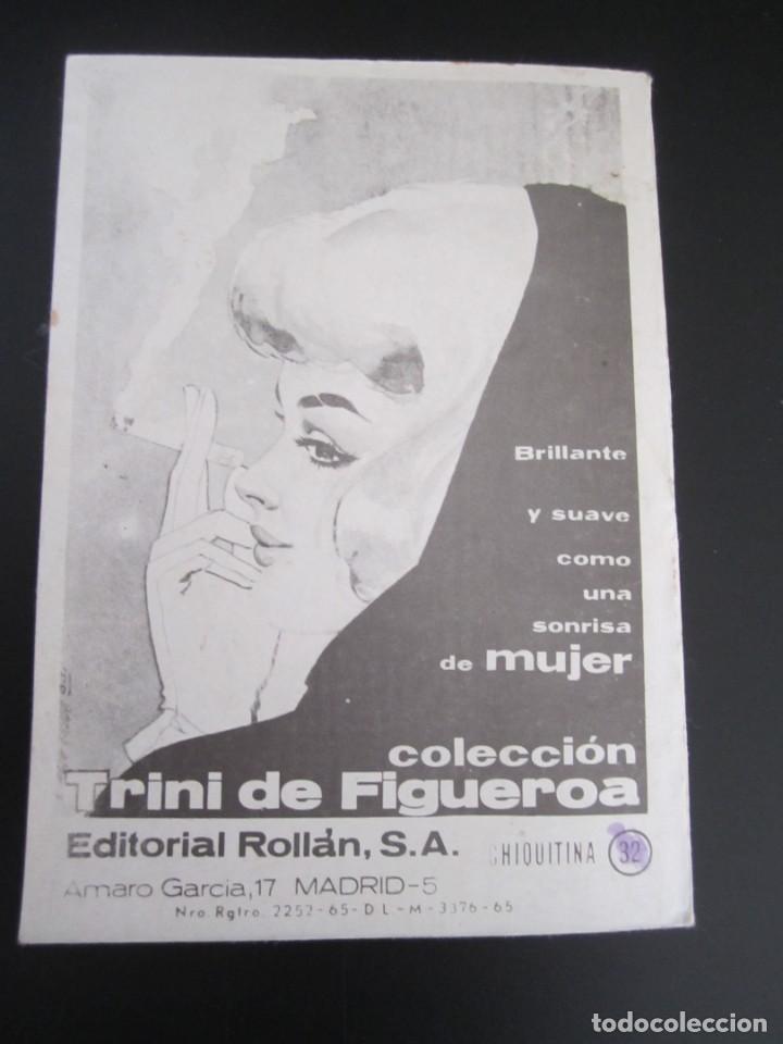 Tebeos: CHIQUITINA (1964, ROLLAN) 32 · 1966 · COLECCIÓN CHIQUITINA - Foto 2 - 199991668