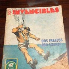 Tebeos: LOTE LOS INVENCIBLES ED ROLLAN. Lote 200059252