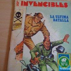 Livros de Banda Desenhada: COMICS R Nº 8. LOS INVENCIBLES. LA ÚLTIMA BATALLA. ROLLAN 1973. BUEN ESTADO. Lote 200354721