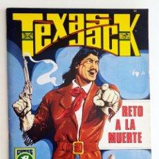 Livros de Banda Desenhada: TEXAS JACK Nº 2 - RETO A LA MUERTE - ROLLAN - HISTORIAS GRAFICAS PARA ADULTOS MUY BUEN ESTADO. Lote 201898322