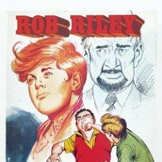 Tebeos: ROB RILEY TOMO Nº 15 RETAPADO CON LOS 5 NUMEROS DE LA COLECCION - EDITORIAL ROLLAN. Lote 204278757