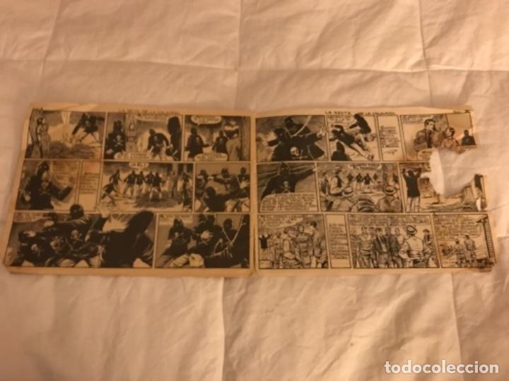 Tebeos: CÓMIC - MENDOZA COLT - LA SECTA DE LA CALAVERA - COMIC ROLLÁN ORIGINAL DEL AÑO 1955 - nº 66 - Foto 6 - 205669528