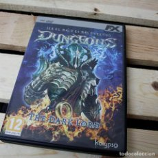 Tebeos: DUNGEONS. THE DARK LORD - PC - VIDEOJUEGO SEGUNDA MANO. Lote 205889485