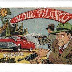Tebeos: JEQUE BLANCO AÑO 1951 Nº 137 ES ORIGINAL EL ÚLTIMO DE LA COLECCIÓN DIBUJANTE ARMANDO. Lote 206537811