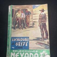 Tebeos: LUCHADORES DEL OESTE. Lote 206816776