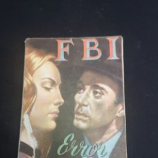 Tebeos: ERROR FATAL FBI. Lote 206817308
