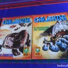 Tebeos: GALAXUS NºS 1 Y 2. ROLLÁN 1972. 25 PTS. BUEN ESTADO.. Lote 207380490