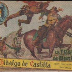 Tebeos: EL HIDALGO DE CASTILLA Nº 1. Lote 208056392