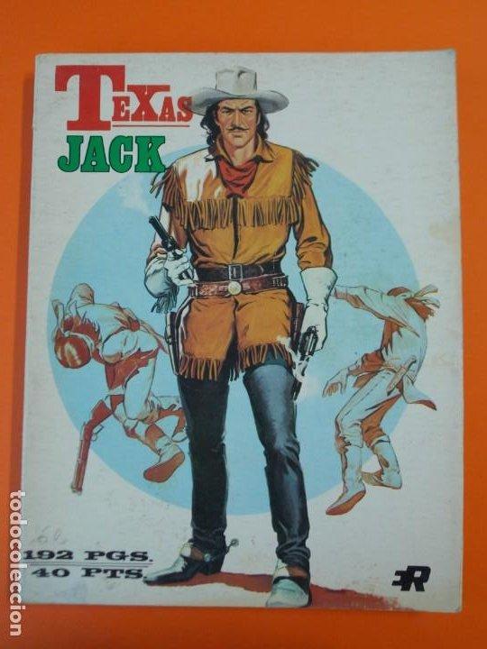 COMIC TEXAS JACK - Nº 17-18-19 SERIE AZUL - AÑO 1973 - EDITORIAL ROLLÁN...L1346 (Tebeos y Comics - Rollán - Series Rollán (Azul, Roja, etc))