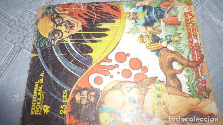 Tebeos: LAS AVENTURAS DE CARLITOS PAZ - EL AGENTE THICK - COMIC Nº 20 - ED. ROLLAN 1973. - Foto 2 - 208959245