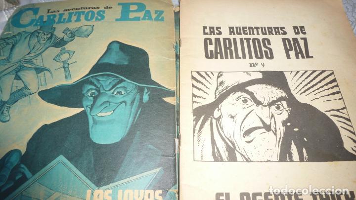 Tebeos: LAS AVENTURAS DE CARLITOS PAZ - EL AGENTE THICK - COMIC Nº 20 - ED. ROLLAN 1973. - Foto 3 - 208959245