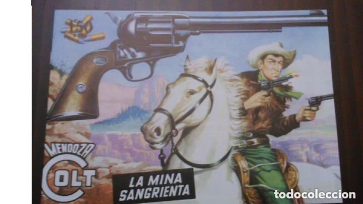 MENDOZA COLT - LA MINA SANGRIENTA (Tebeos y Comics - Rollán - Mendoza Colt)