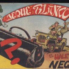 Tebeos: JEQUE BLANCO Nº 107: EL MALETIN NEGRO. Lote 209237538