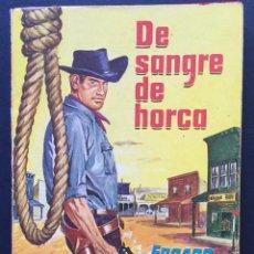Tebeos: NOVELA OESTE WESTERN EXTRA-OESTE DE SANGRE DE HORCA E. KENNEDY DIBUJO DE PORTADA PRIETO MURIANA 1960. Lote 209860362