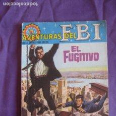 Tebeos: AVENTURAS DEL FBI Nº 9. EL FUGITIVO. EDITORIAL ROLLAN.. Lote 212751356