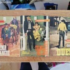 Tebeos: ROJA LÁGRIMA DE SANGRE / LOS COLMILLOS DEL LOBO / DUELO. WESTERN CLUB. 1ª EDICIÓN 1965 Y 1966. Lote 213738007