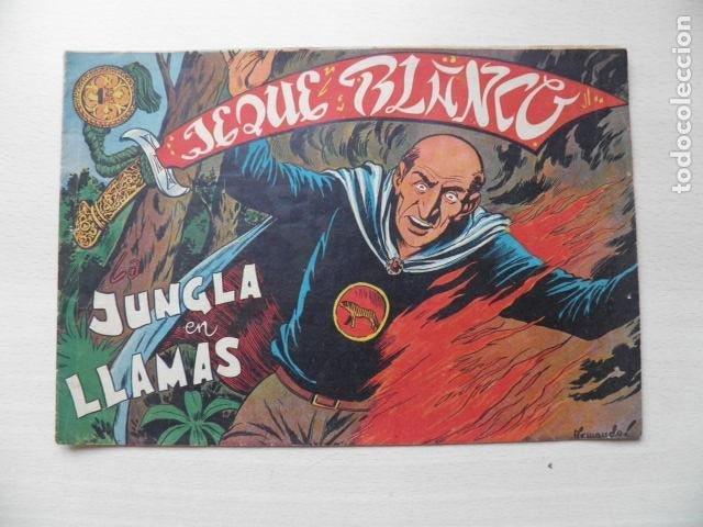 TEBEO DE EL JEQUE BLANCO (Tebeos y Comics - Rollán - Jeque Blanco)