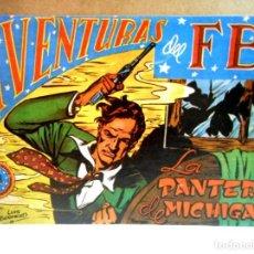 Livros de Banda Desenhada: AVENTURAS DEL FBI Nº 1 LA PANTERA DE MICHIGAN ( FACSÍMIL ). Lote 217026807
