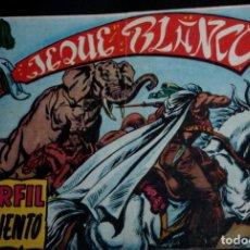 Tebeos: JEQUE BLANCO Nº 10 (ORIGINAL) .ED.ROLLAN .. Lote 217483311