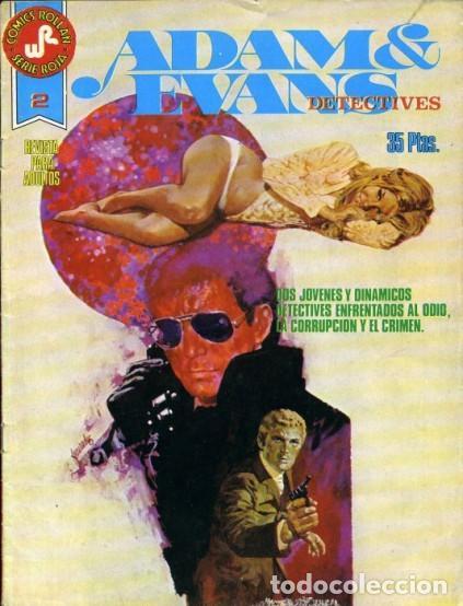 ADAM & EVANS-ROLLÁN-SERIE ROJA- Nº 2 -EL CASTILLO DE LOCH BLACK-1977-GRAN JOSEP GUAL-BUENO-LEA-3731 (Tebeos y Comics - Rollán - Series Rollán (Azul, Roja, etc))