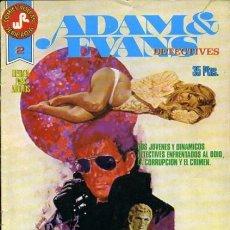 Tebeos: ADAM & EVANS-ROLLÁN-SERIE ROJA- Nº 2 -EL CASTILLO DE LOCH BLACK-1977-GRAN JOSEP GUAL-BUENO-LEA-3731. Lote 218041183