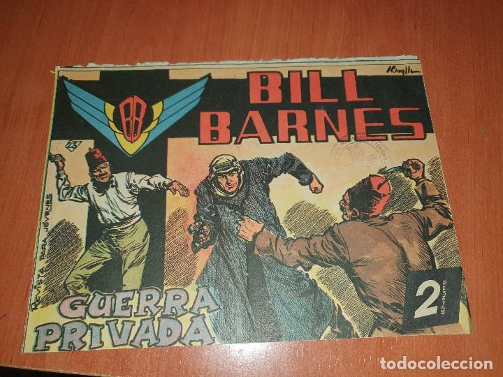 BILL BARNES, N° 23 DE LA COLECCION, ES EJEMPLAR QUE LA EDITORIAL MANDABA A CENSURA (Tebeos y Comics - Rollán - Otros)