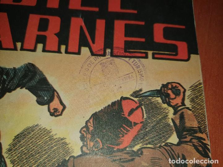 Tebeos: Bill barnes, n° 23 de la coleccion, es ejemplar que la editorial mandaba a censura - Foto 2 - 218646745