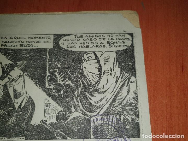Tebeos: Bill barnes, n° 23 de la coleccion, es ejemplar que la editorial mandaba a censura - Foto 4 - 218646745