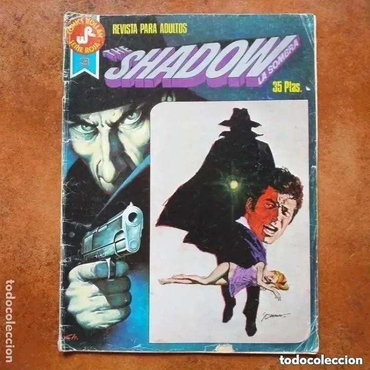THE SHADOW. LA SOMBRA. NUM 3 (Tebeos y Comics - Rollán - Series Rollán (Azul, Roja, etc))