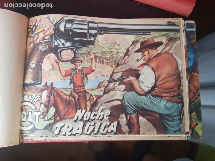 Tebeos: COLECCIÓN 19 TEBEOS/CÓMIC TOMO ORIGINAL MENDOZA COLT ROLLÁN N 1 Y ALMANAQUE HAZAÑAS BÉLICAS 1959 TOR - Foto 3 - 218835973