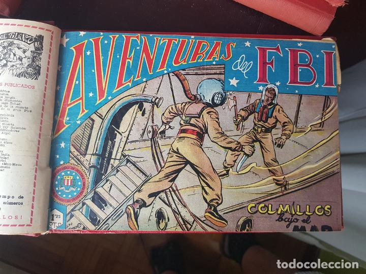 Tebeos: COLECCIÓN 18 TEBEOS/CÓMIC TOMO ENCUADERNADO ORIGINAL AVENTURAS DEL FBI ROLLAN N 11-24 a 74 (2) - Foto 7 - 218949856