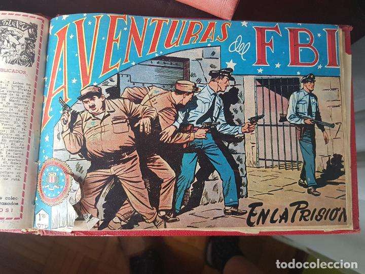 Tebeos: COLECCIÓN 18 TEBEOS/CÓMIC TOMO ENCUADERNADO ORIGINAL AVENTURAS DEL FBI ROLLAN N 11-24 a 74 (2) - Foto 14 - 218949856