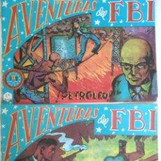 Tebeos: 2 COMICS DE AVENTURAS FBI N 23 Y 24. Lote 219137685